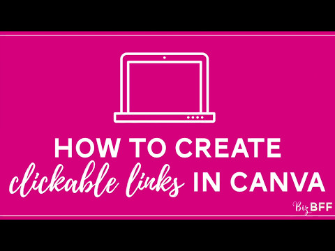 How to Create Clickable Links in Canva