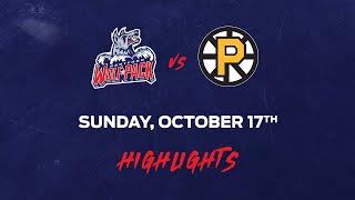Bruins vs. Wolf Pack | Oct. 17, 2021