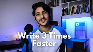 3 Tips to Write Content 3 TIMES FASTER