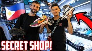 Philippines FAKE Market Sells REAL SNEAKERS!? (Manila Vlog)