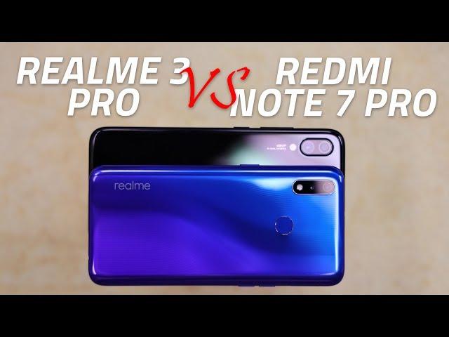 Realme 3 Pro vs Redmi Note 7 Pro: Camera, Performance
