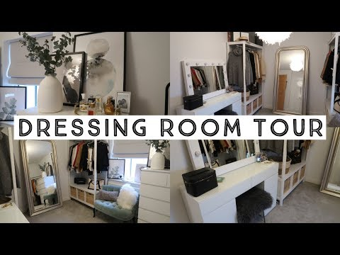 MY DRESSING ROOM TOUR | Ruby Holley