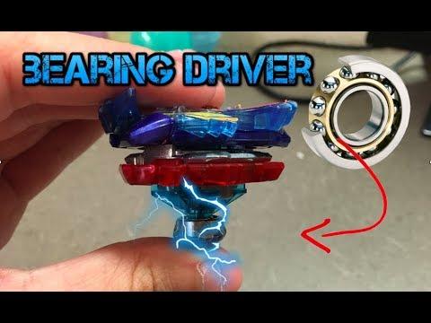 Ball Bearing Driver Mod!! Beyblade Burst