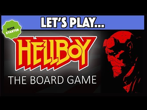 Let's Play Hellboy The Board Game