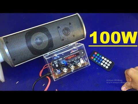 Test combo chế loa bluethooh 200w