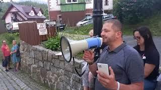 24 07 2021 Agresywna Magda Gessler uszkodziła nam w Karpaczu telefon i mocno obciągała kabel.