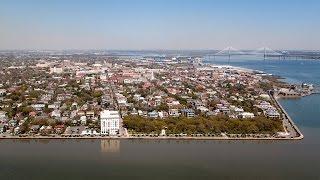 Downtown Flyover, Take a Tour, Charleston, SC