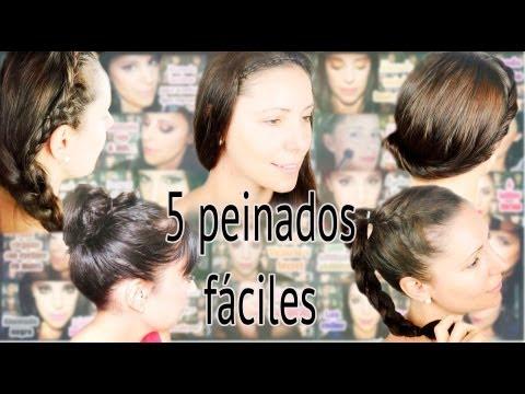 Cinco peinados f ciles para melenas largas canal peinados - Peinados de melenas largas ...