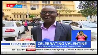 How Kenyans celebrated Valentine\'s Day