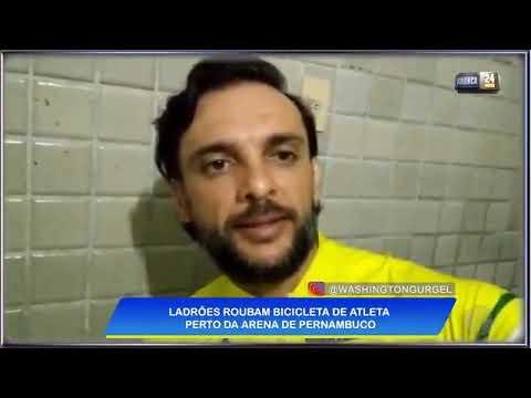 Atleta do Panamericano de ciclismo tem bicicleta roubada na Arena de Pernambuco