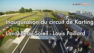 preview picture of video 'Inauguration du circuit de Laval Beausoleil Louis Paillard'