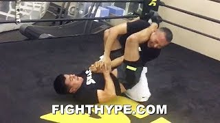 """""""CALL ME RONDA ROUSEY"""" – TEAM GARCIA DISPLAYS MMA SKILLS DURING DOWNTIME IN SPENCE CAMP"""