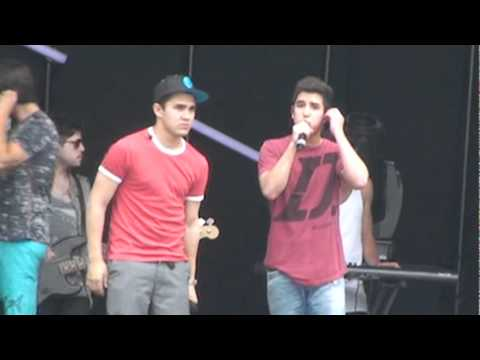 Big Time Rush Preshow Universal Studio Orlando May 2011 Song: Nothing Even Matters