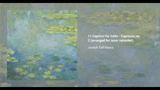 11 Caprices for Cello