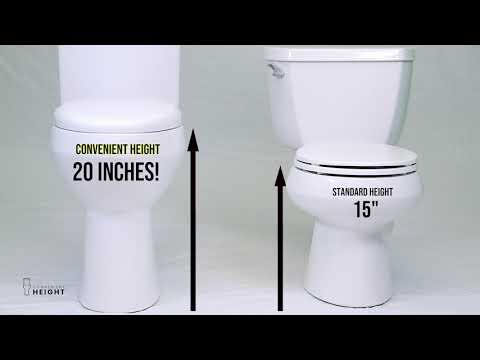 20 Inch Convenient Height Toilet