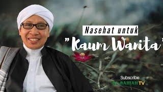 Gambar cover Nasehat Untuk Kaum Wanita   Buya Yahya
