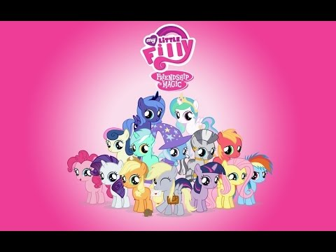 All Songs from MLP:FiM - Seasons 1, 2, 3, 4,+Equestria Girls! (Filly version)