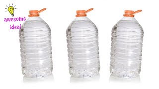 4 LOVELY WAYS TO RECYCLE/REUSE BIG PLASTIC BOTTLES| Best Reuse Ideas