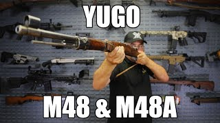 Yugo M48 / M48A, 8MM Mauser Bolt Action Rifles G-VG Cracked Stock or Incomplete- C & R Eligible