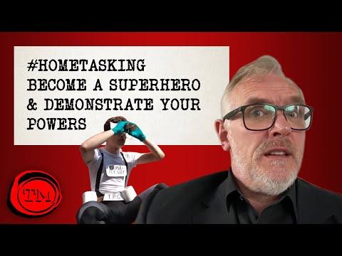 Hometasking: Staňte se superhrdinou