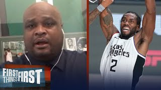 Antoine Walker on reports of Kawhi's caliber & his future with Clippers   NBA   FIRST THINGS FIRST