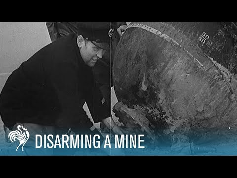 How a WWII Mine is Disarmed