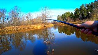 Ловля уклейки весной на поплавочную удочку 2020