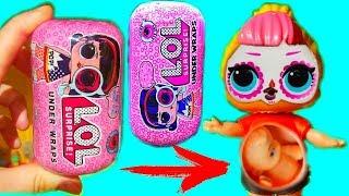 БЕРЕМЕННАЯ КУКЛА #ЛОЛ КАПСУЛА UNDER WRAPS УЖАСНАЯ ПОДДЕЛКА! New LOL Dolls Surprise Wave 2 FAKE