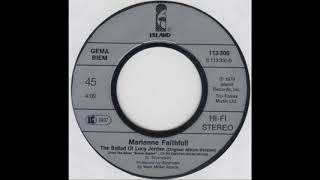 Marianne Faithfull - The Ballad of Lucy Jordan (1979)
