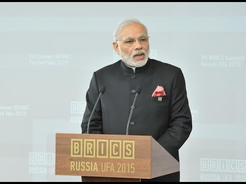 PM Modi's address at BRICS Business Council in Ufa, Russia