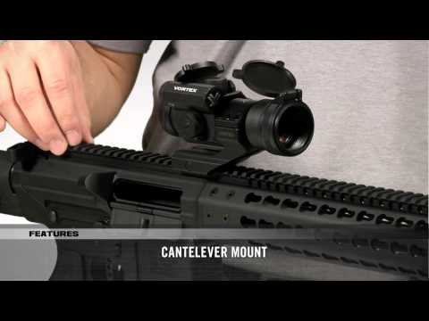 Strikefire Ii Red Dot 4moa Cantilever Mount Vortex