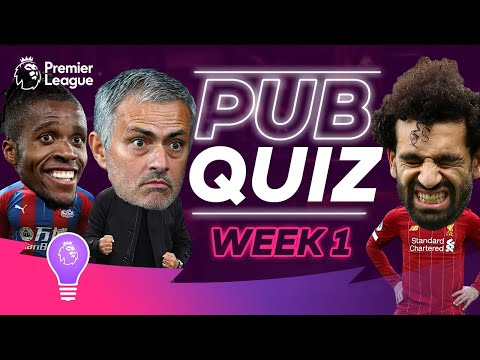 How good is your Premier League Trivia? | #PLPubQuiz Episode 1