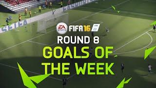 FIFA 16 - Best Goals Of The Week - Round 8