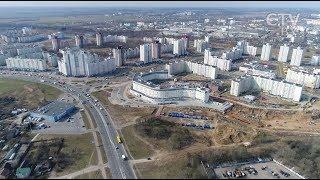 Ленинский район Минска – что построят и благоустроят: «Большой город»