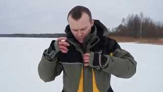 Костюм зимний для зимней рыбалки норфин