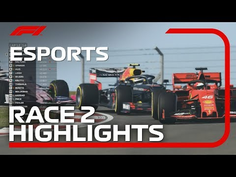 F1 Esports Pro Series 2019: Race Two Highlights