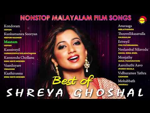 Best of Shreya Ghoshal | Nonstop Malayalam Film Songs
