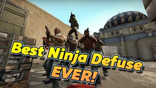 THE BEST NINJA DEFUSE EVER!