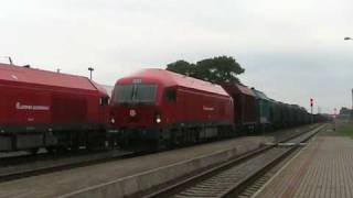 preview picture of video '[LG] ER20-002 and ER20-011, Kretinga station'