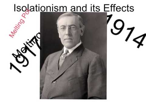 Isolationism and its Effects