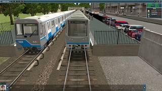 Обзор и тест состава 81-740/741 (РУСИЧ) в TRAINZ. Двери все анимированы.