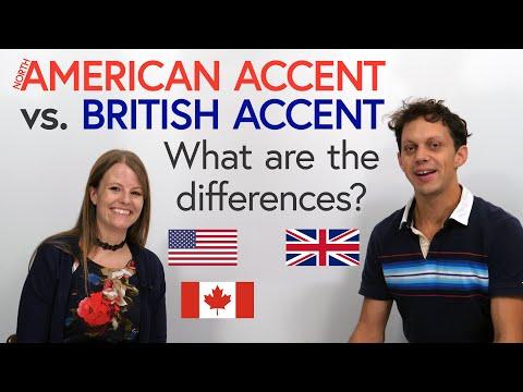 British English & North American English: Pronunciation & Accent Differences