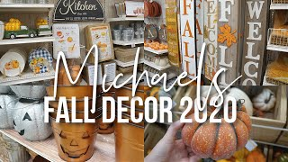 MICHAELS FALL SHOP WITH ME 2020 | FALL HOME DECOR