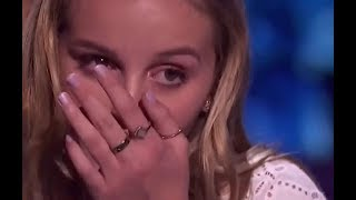 She Made Simon Very EMOTIONAL - MUST SEE! Semi-Finals 1 | America