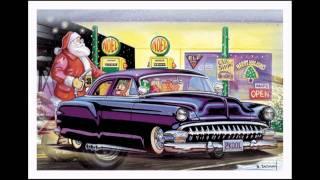 Santa has a Hot Rod