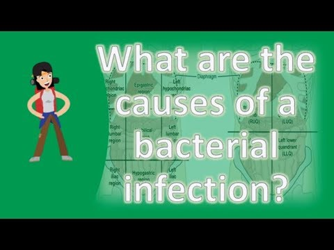 What are the causes of a bacterial infection ?   Healthy LIFE