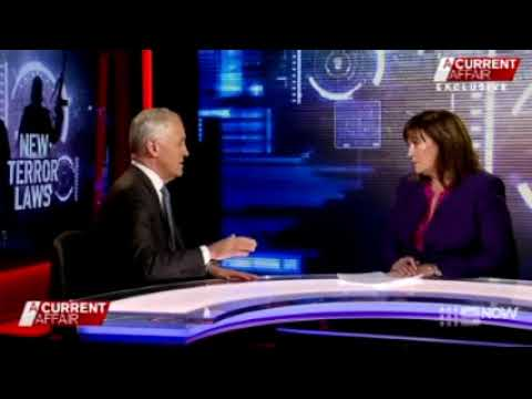 Turnbull confirms Australia a part of the New World Order on a Current Affair