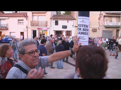 SATV 200917 concentracio castellvi de Rosanes setge policial