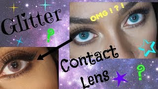 Glitter-Contact Lens?: ColorCl Pearl Edition| Im Shook