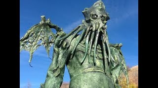 Cthulhu Costume - Homemade Latex Suit